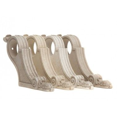 Acanthus Vintage French Curtain Pole Brackets                                                                                                                                                                                 More