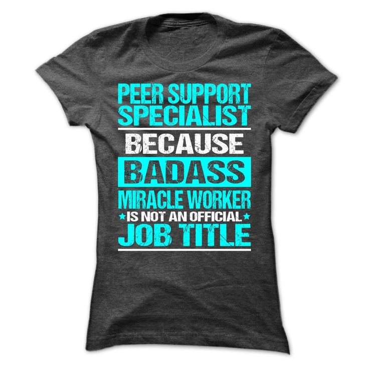 Awesome Shirt For Peer Support Specialist