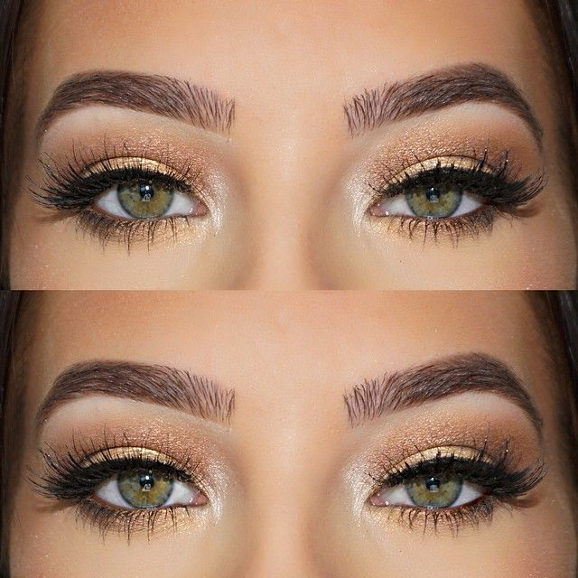 Pinterest account: abbiewilliamsx Soft and suttle golden smokes