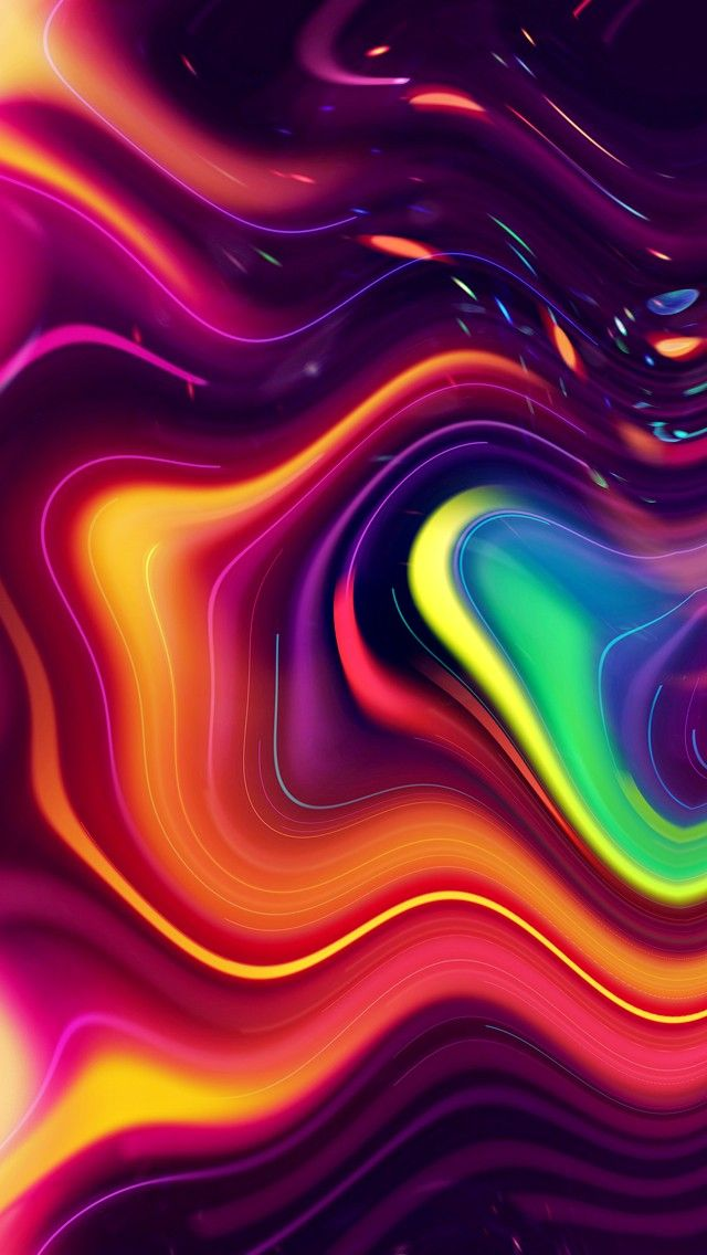 Rainbow Galaxy Abstract Wallpaper Trippy Wallpaper Live