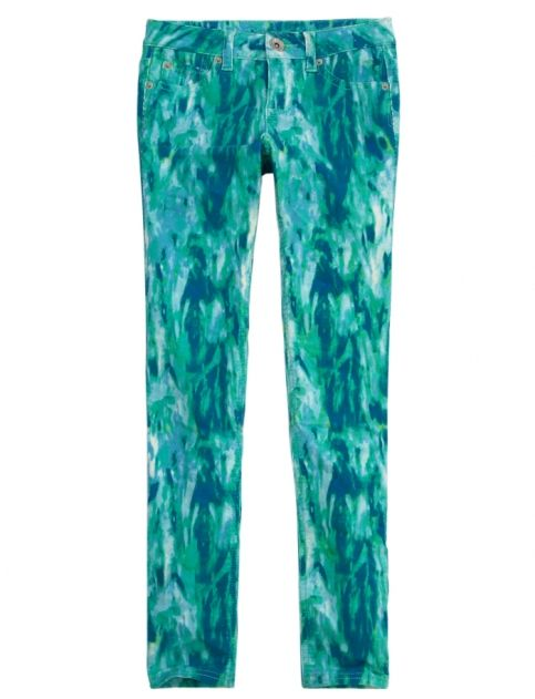 PRINTED SUPER SKINNY CORDUROY PANTS | GIRLS PANTS & CORDS CLOTHES | SHOP JUSTICE