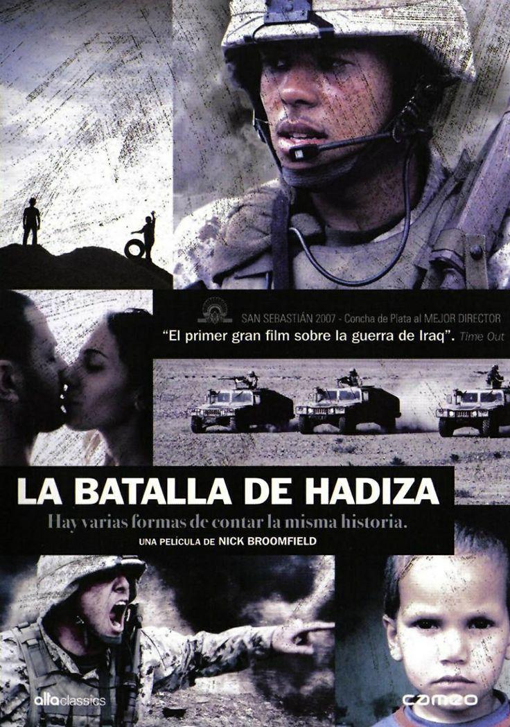 La batalla de Hadiza (2007) Reino Unido. Dir: Nick Broomfield. Drama. Bélico. Guerra de Iraq - DVD CINE 1477