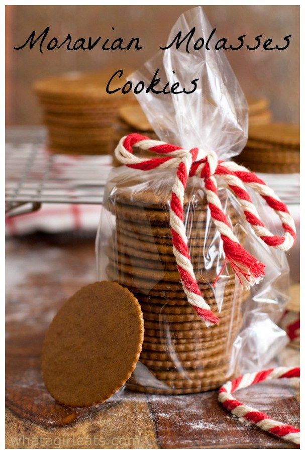 Moravian Molasses Cookies A Classic Czech Cookie All Fabulous