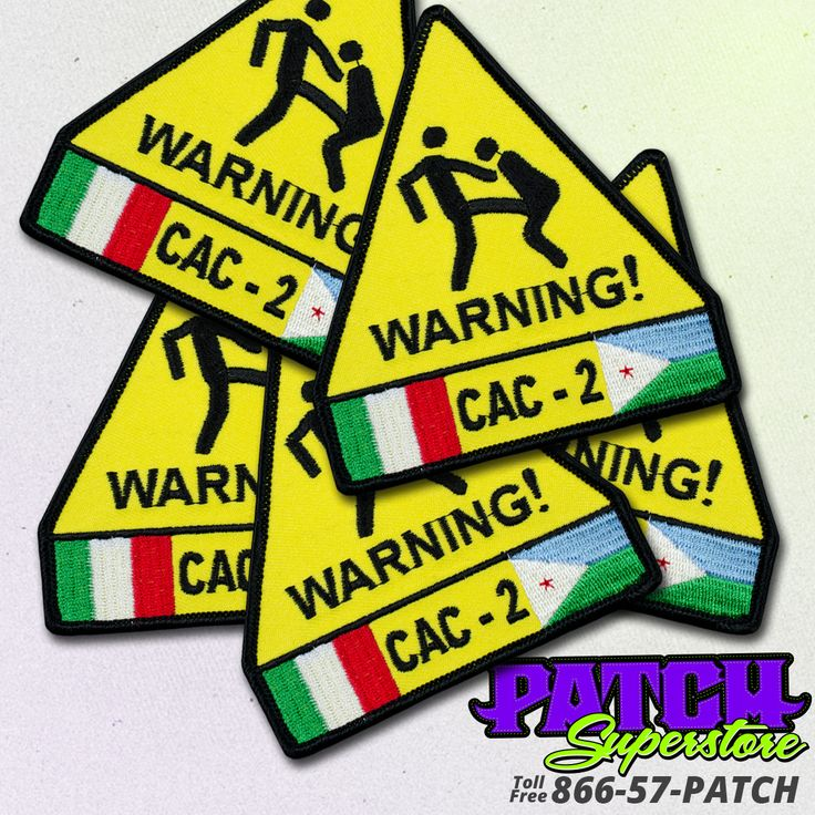 CAC-2 Military Moral Booster Patch. Like getting kicked in the balls.  #unitpatch #military #moral #patchsuperstore