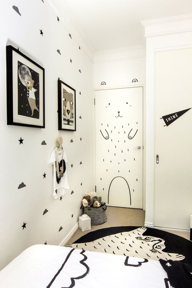Monochrome Toddler room by Young Folk Store