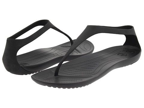 I spent all last summer looking for inexpensive black strappy sandals that I could get wet (without it being a big deal)...and here they are:)