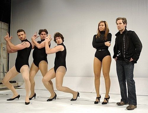 "You know they did their job in this skit because every time I hear ""Single Ladies,"" this is what I think about."