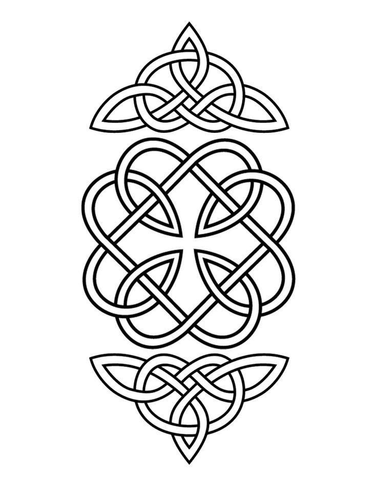 94 best Celtic Coloring Pages for Adults images on Pinterest
