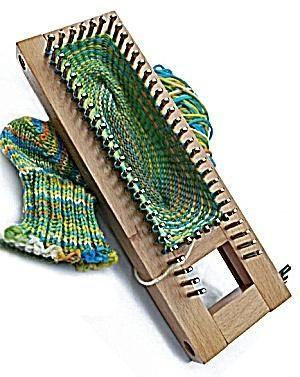 Sock Loom by Knitting Board from Lion Brand Yarn by Stephanie Malan Smit
