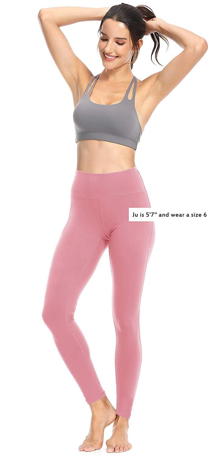 e5d0f6ffc1ecfe Amazon.com: Queenie Ke Women Power Stretch Leggings Plus Size Yoga Pants  Running Tights: Clothing