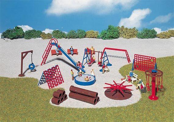 FALLER 180576 Landscape & Decoration Decoration Playground equipment Spur H0 - メルクリン・フライシュマン・PIKO・ROCO・海外欧州鉄道模型通販【ワールド・トレイン】