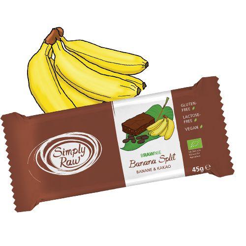 Rohkost-Frucht-Nuss-Brownie mit Banane und Kakao…