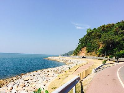 หาดคุ้งวิมาน หาดงาม ถนนสวย จันทบุรี  #travel #chanthaburi #จันทบุรี #หาดคุ้งวิมาน  http://chanthaburiteawthai.blogspot.com/2016/07/chanthaburi6.html  http://travel.sanook.com/thailand/chanthaburi/