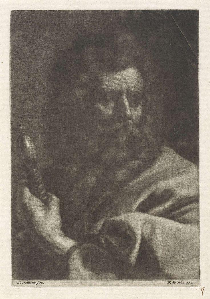 Wallerant Vaillant | Apostel Paulus, Wallerant Vaillant, Frederik de Wit, 1658 - 1706 |