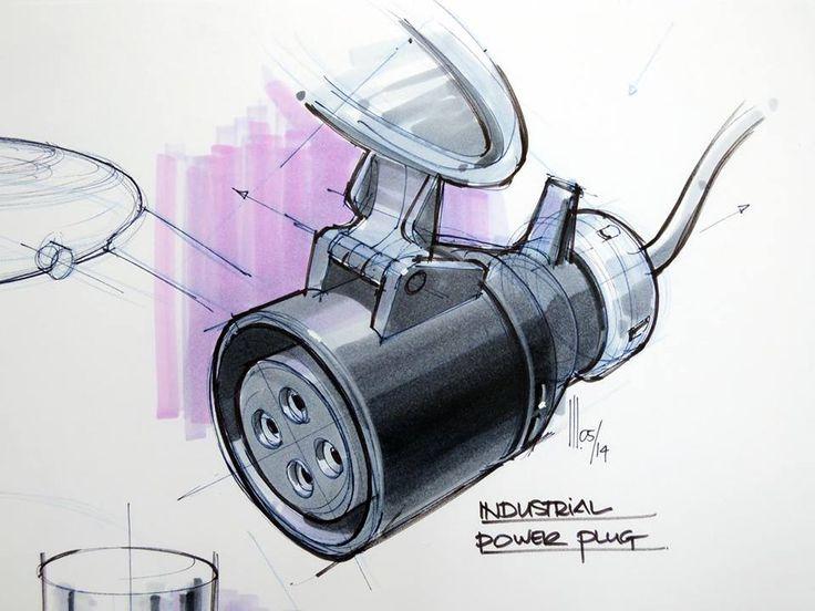 industrial power plug