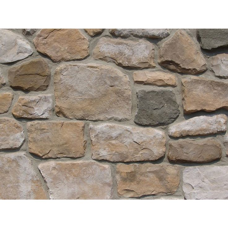 Ply Gem Stone Fieldstone 10-sq ft Autumn Faux Stone Veneer                                                                                                                                                                                 More