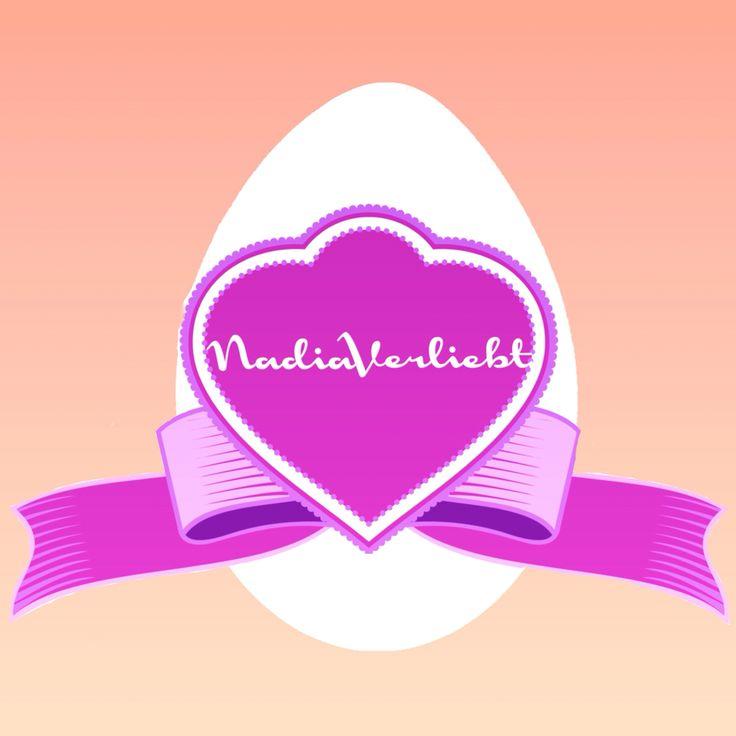 #nadiaverliebt #brand #branding #logo #easteregg #easter #design #pink #graphics