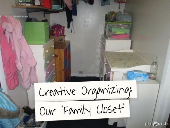 201 Best FAMILY CLOSET Images On Pinterest | Family Closet, Storage Ideas  And Closet Organization