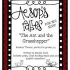 The first of my new set:  Aesop's Fables for Big Kids: The Ant and the Grasshopper.  Includes an original script (by me!), CLOSE reading lesson plans (3 days worth), and graphic organizers.  Check it out today!