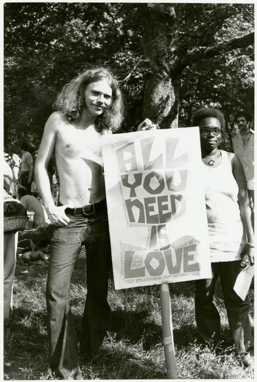 """""""All You Need Is Love,"""" Gay Pride Parade, New York City, 1971"""