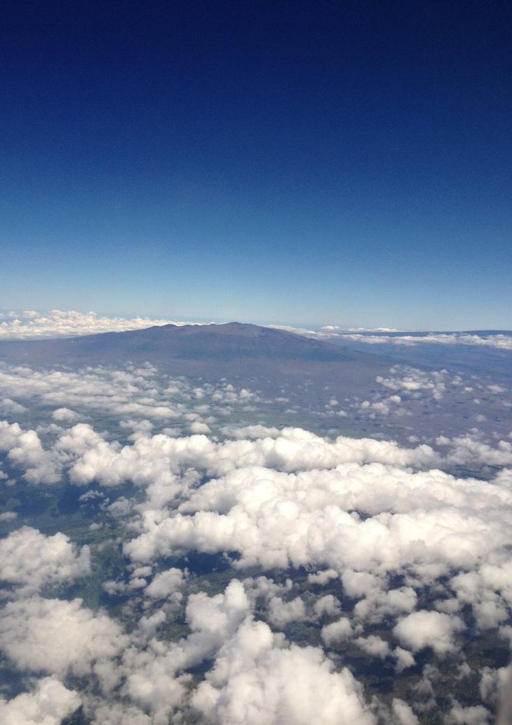 Mauna Kea vu du ciel (C) Alain Vézina