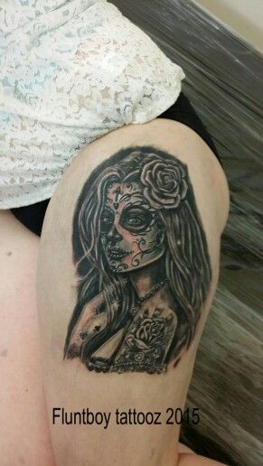A fun Lil day of the dead gilr