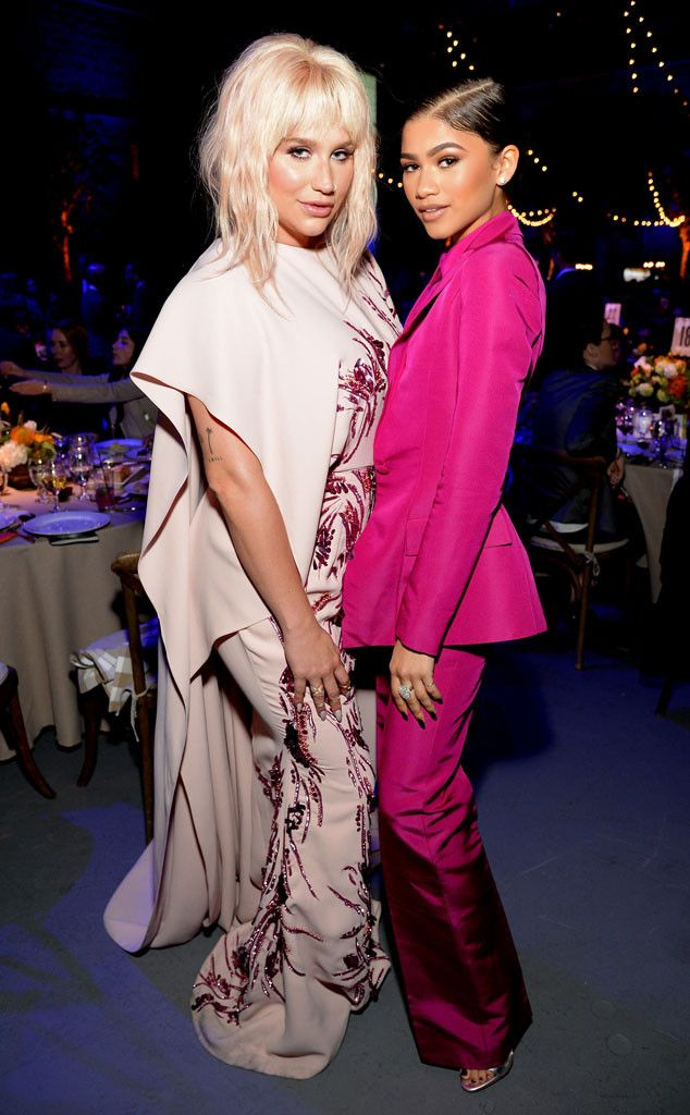 Kesha & Zendaya from The Big Picture: Today's Hot Pics | E! Online