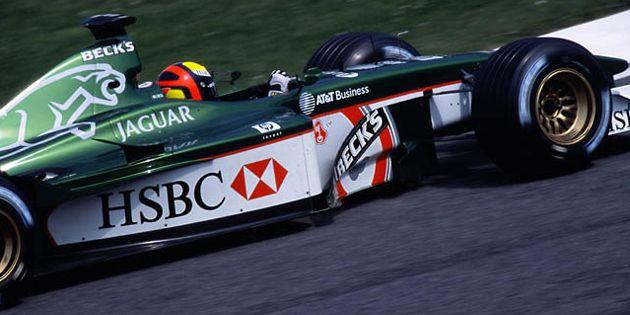 Luciano Burti - 2001 - San Marino GP - Jaguar Racing