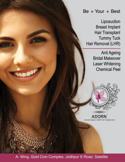 ADORN Cosmetic Clinic ahmedabad Breast implant in Ahmedabad, breast lift in gujarat breast reduction in Ahmadabad bad plastic surgeon in ahmedabad , cosmetic surgeon in ahmedabad , hair transplant in ahmedabad , hair transplant Ahmadabad, breast implants in ahmedabad , breast augmentation Ahmadabad