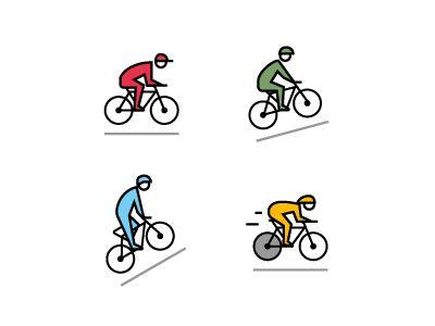 Tour de France icons / Bloomberg Markets by Romualdo Faura