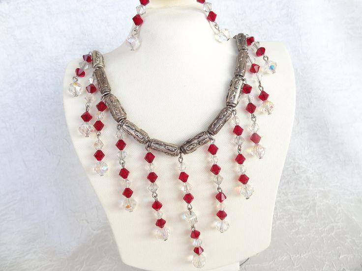 Gargantilla de diamantes de imitación-collar por sevinchjewelry