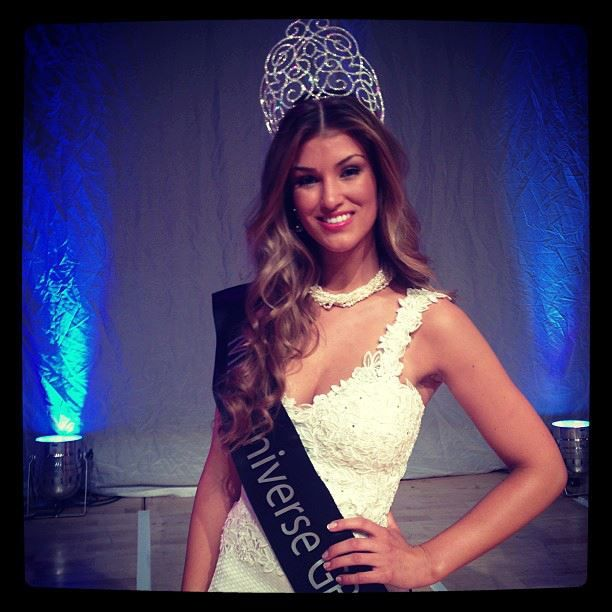 Amy Willerton, Miss Universe Great Britain 2013