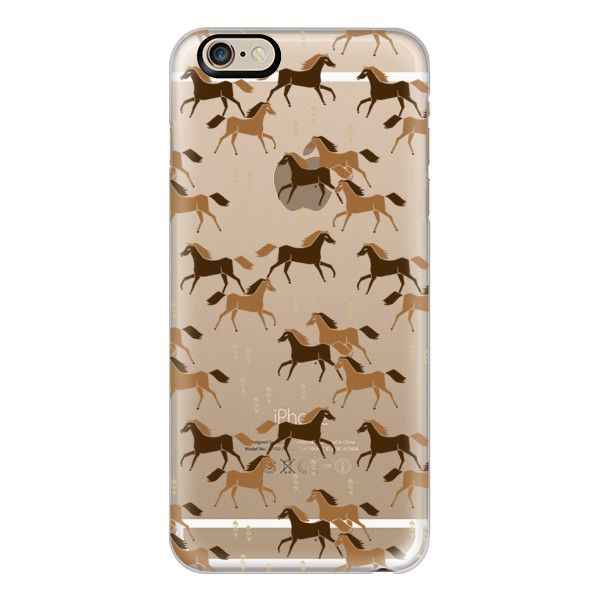 iPhone 6 Plus/6/5/5s/5c Case - Western Horses - Cute cowgirl design on... ($40) ❤ liked on Polyvore featuring accessories, tech accessories, iphone case, slim iphone case, iphone cover case, transparent iphone case and apple iphone cases