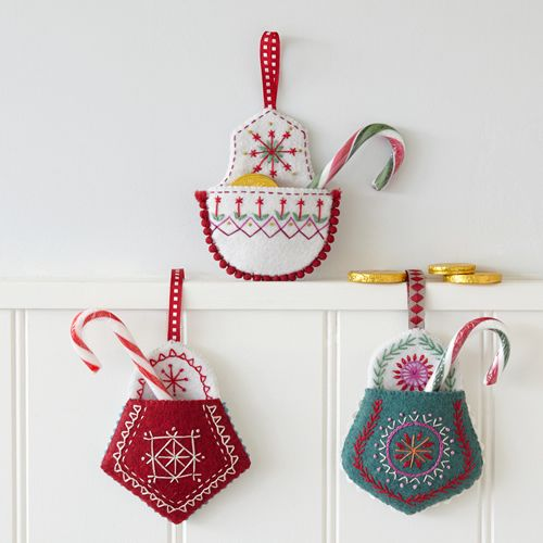 Christmas Pockets, downloadable design from Nancy Nicholson