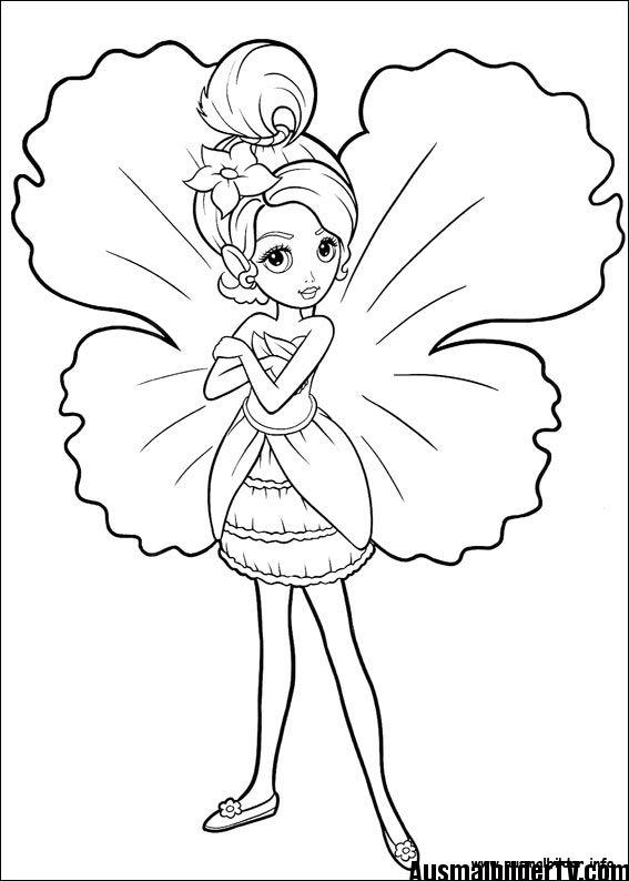 Ausmalbilder Von Barbie Malblätter Und Ausmalbilder Coloring