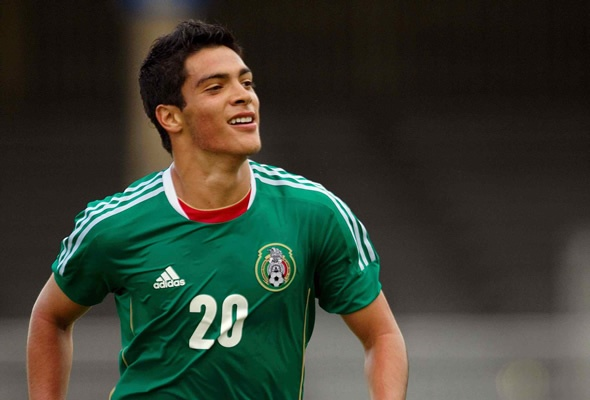 Mexico Vs Holanda Raul Alonso Jimenez