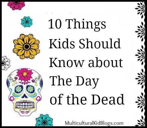 Day of the Dead facts in English and Spanish help kids understand the tradition.