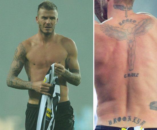 25 best ideas about david beckham back tattoo on for Beckham tattoo back