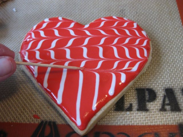 edible valentines … Fancy Pants Valentine's Day Cookies