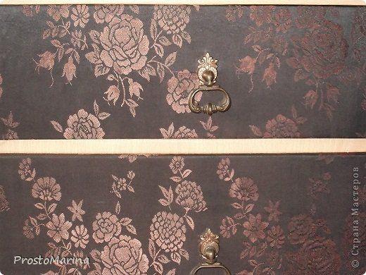 Интерьер Моя переделанная мебель Ткань фото 7
