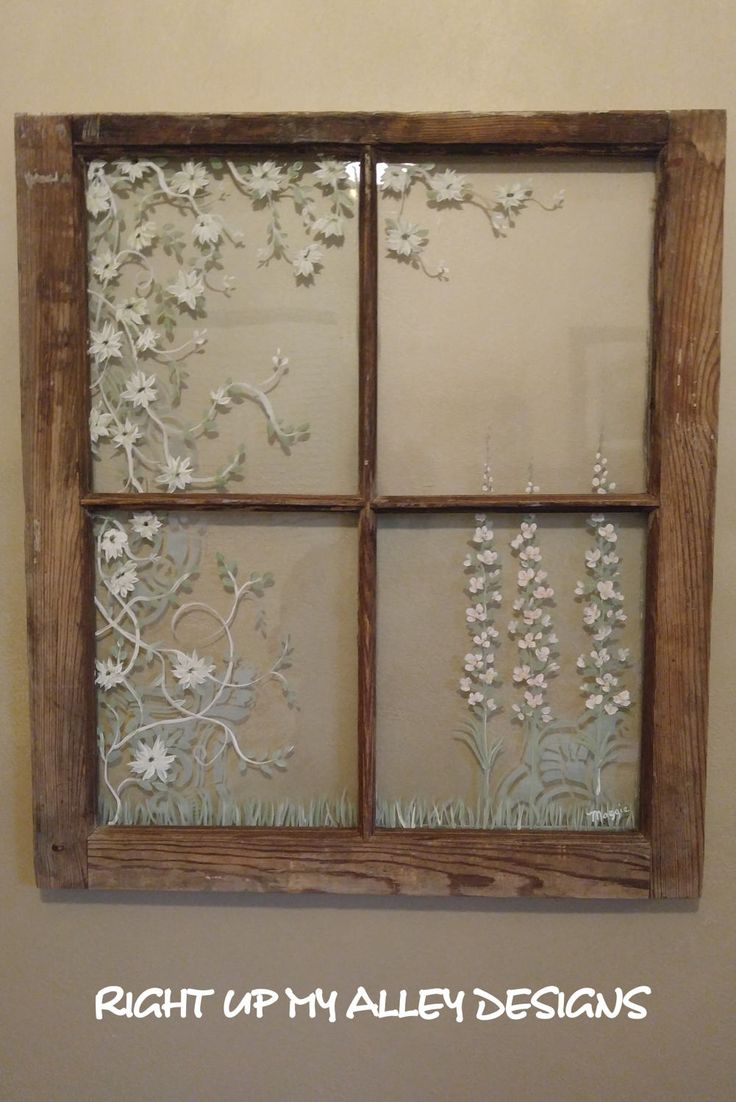 Decorate With Old Windows 118 Best Old Painted Windows By Right Up My Alley Designs Images