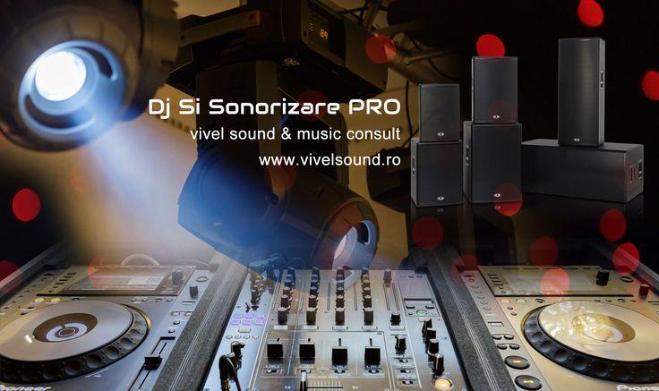 DJ Nunta Bucuresti, DJ Botez, DJ Evenimente. Vivel Sound And Music Consult, servicii sonorizari profesionale pentru nunti, botezuri sau orice eveniment.