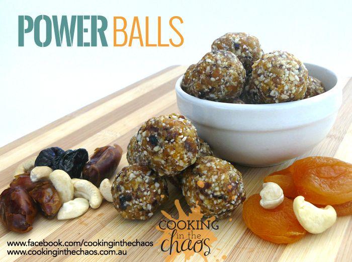 Power Balls Thermomix Recipe