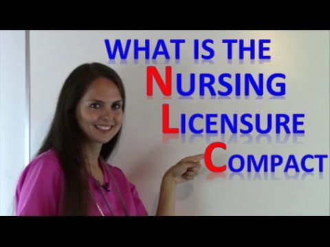 Is My Nursing License Valid in Other States? | Nursing Compact Licensure...