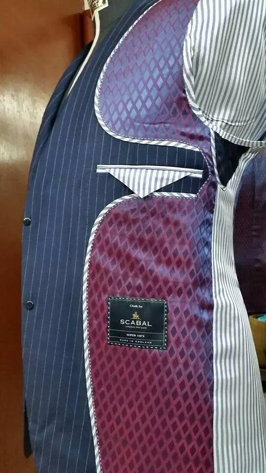 Tailoring details handmade