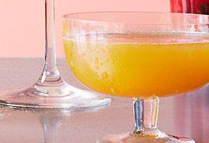Spicy zucchini martini : combines zucchini & tangerine juices | an Oprah fave