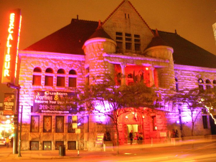 "Here are the most haunted spots, according to a paranormal investigator. ""Excalibur Nightclub"" #HalloweeninChicago"
