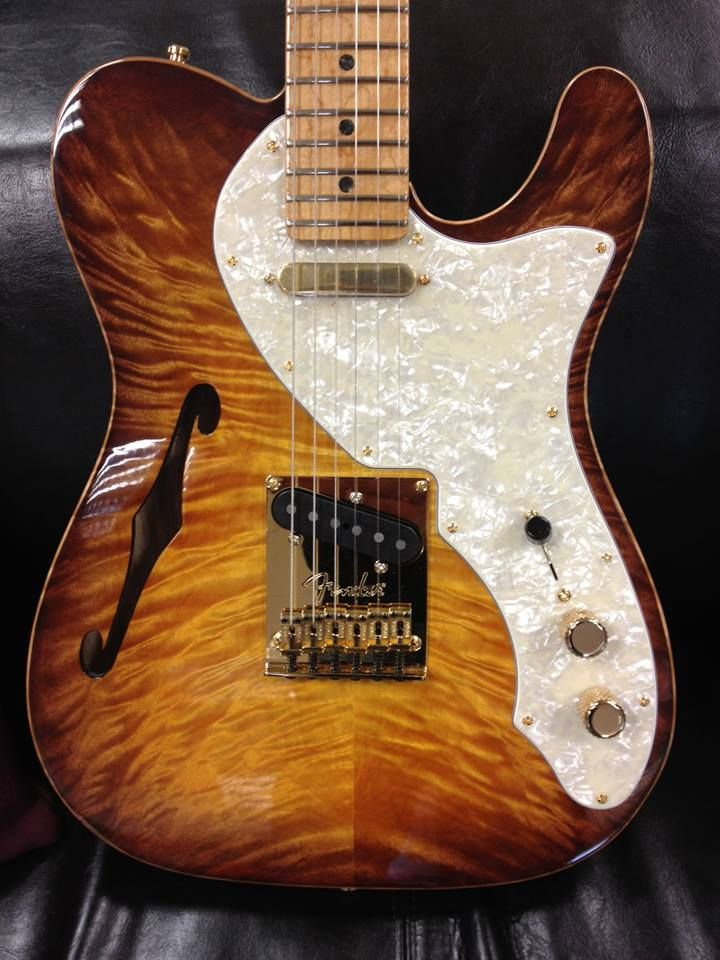 Art or Guitar? Fender Tele Select 2013. Beautiful finish