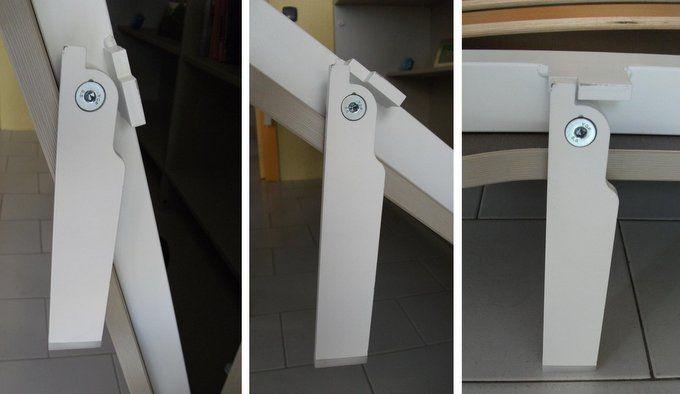 Cama abatible horizontal de 135 con foto sin estantes for Cama abatible horizontal