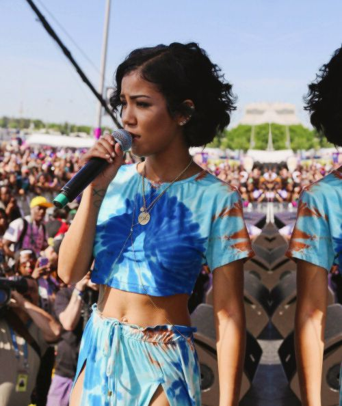 173d7c1726ac Jhene Aiko Performs at Hot 97′s Summer Jam Festival 2014